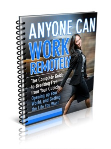 anyone can work remotely